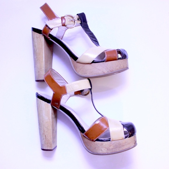 69829734800 Vintage 70 s Retro Patent Leather Groovy Platform.  M 5b73f7f104ef50f8a41cb6a6. Other Shoes you may like